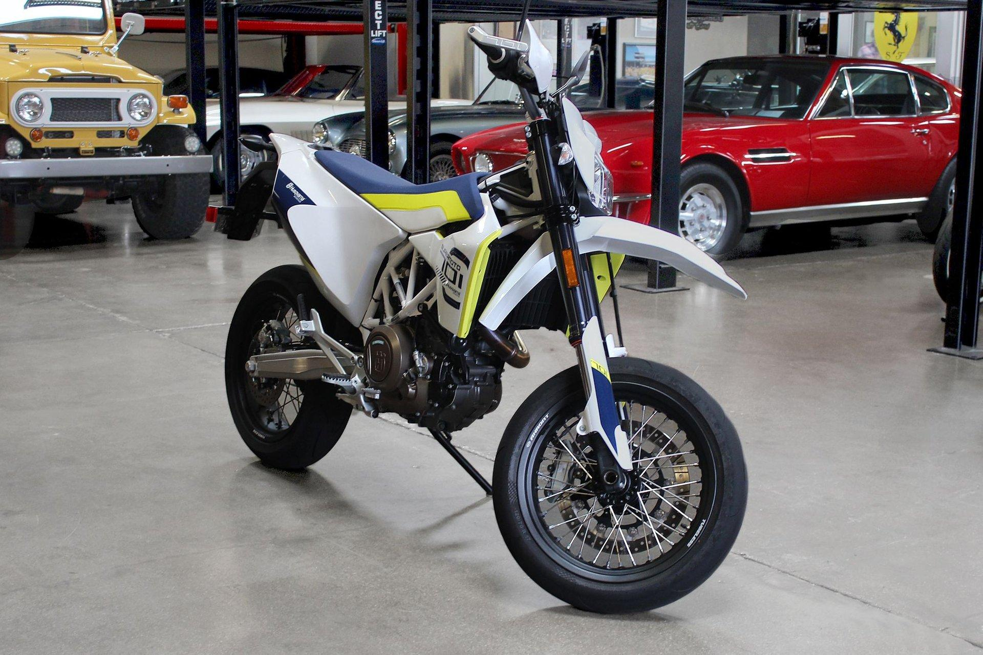 Used 2019 Husqvarna 701 supermoto for sale $10,995 at San Francisco Sports Cars in San Carlos CA 94070 1