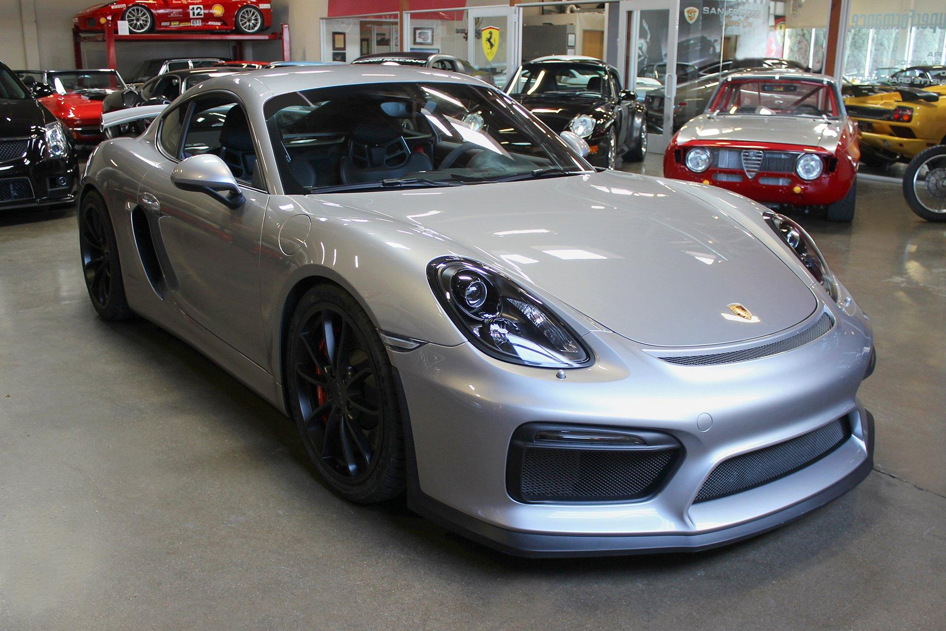 Used 2016 Porsche Cayman for sale Sold at San Francisco Sports Cars in San Carlos CA 94070 1