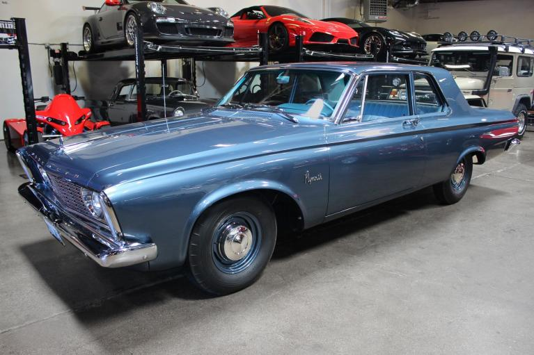 Used 1963 Plymouth Savoy for sale Sold at San Francisco Sports Cars in San Carlos CA 94070 4