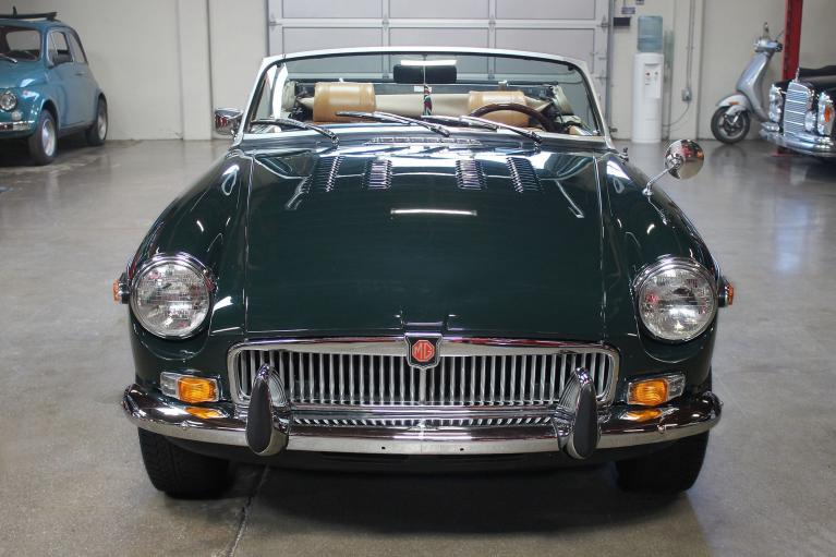 Used 1975 MG B for sale Sold at San Francisco Sports Cars in San Carlos CA 94070 2