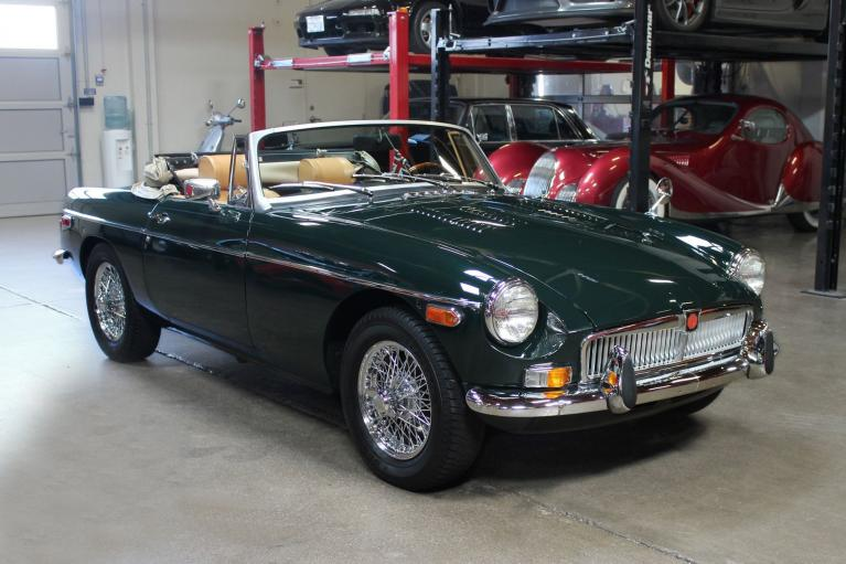 Used 1975 MG B for sale Sold at San Francisco Sports Cars in San Carlos CA 94070 1
