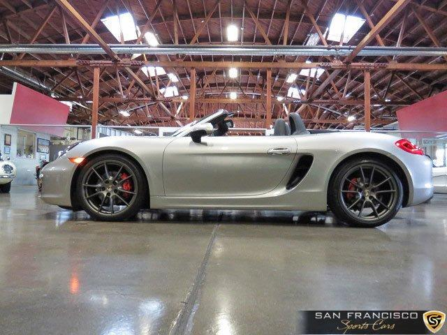 Used 2013 Porsche Boxster S for sale Sold at San Francisco Sports Cars in San Carlos CA 94070 3