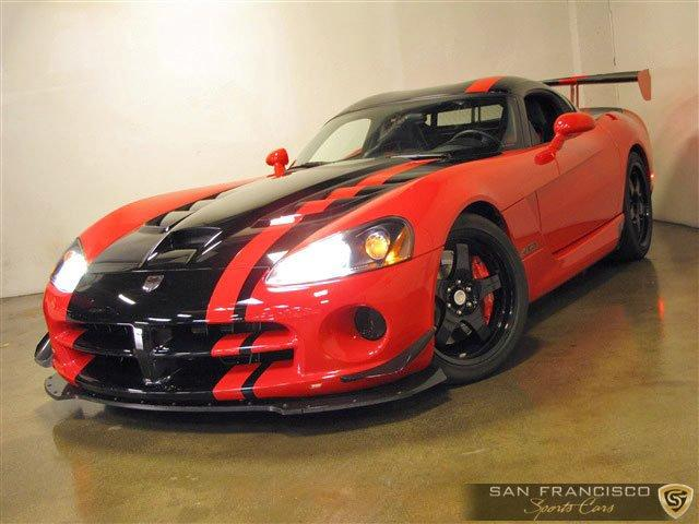 Used 2008 Dodge Viper ACR for sale Sold at San Francisco Sports Cars in San Carlos CA 94070 2