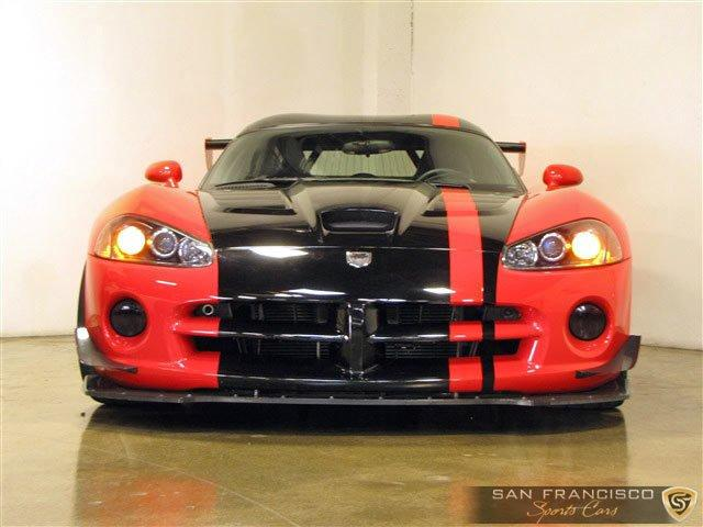 Used 2008 Dodge Viper ACR for sale Sold at San Francisco Sports Cars in San Carlos CA 94070 1