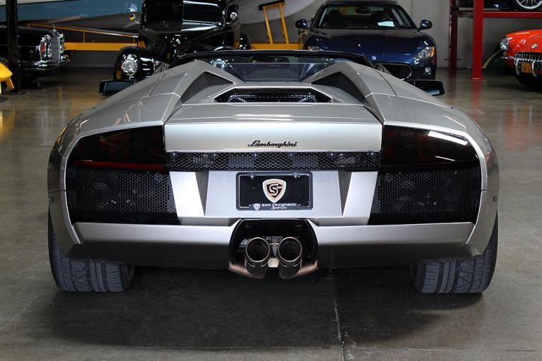Used 2005 Lamborghini Murcielago Rdstr for sale Sold at San Francisco Sports Cars in San Carlos CA 94070 2