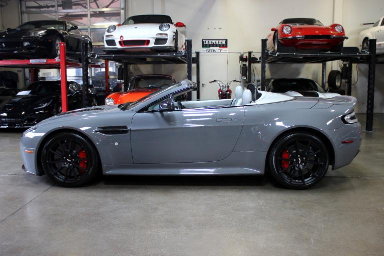 Used 2015 Aston Martin V12 Vantage S Roadster for sale Sold at San Francisco Sports Cars in San Carlos CA 94070 4