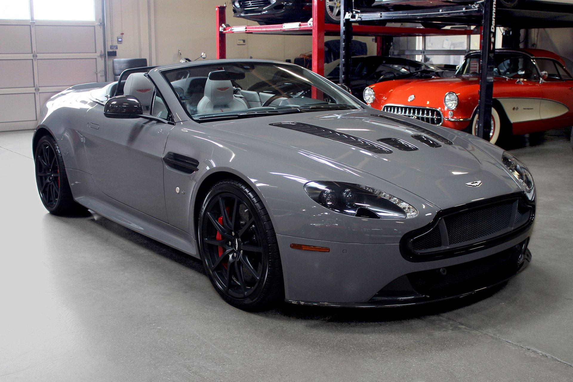 Used 2015 Aston Martin V12 Vantage S Roadster for sale Sold at San Francisco Sports Cars in San Carlos CA 94070 1