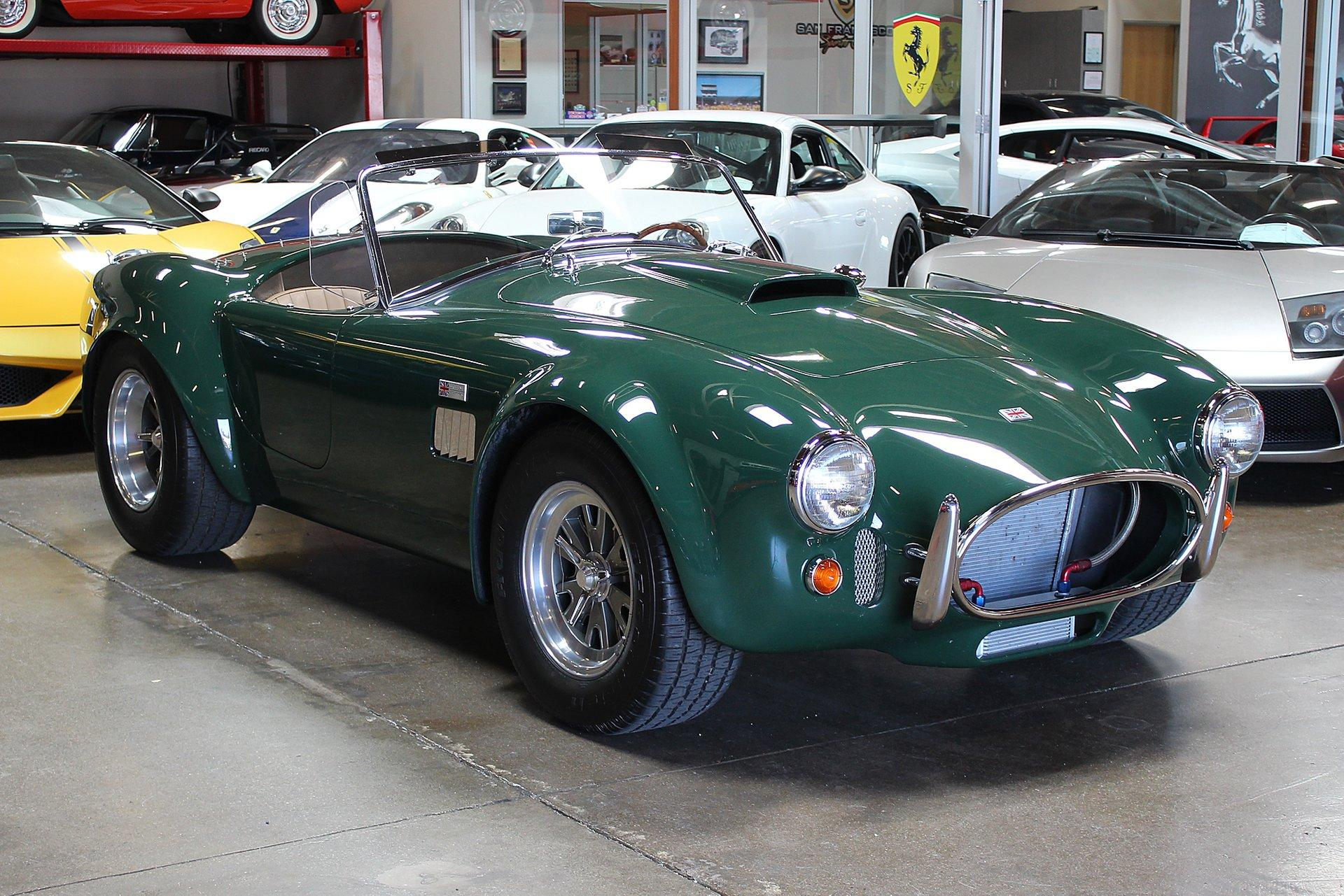 Used 2009 Superformance Cobra for sale Sold at San Francisco Sports Cars in San Carlos CA 94070 1