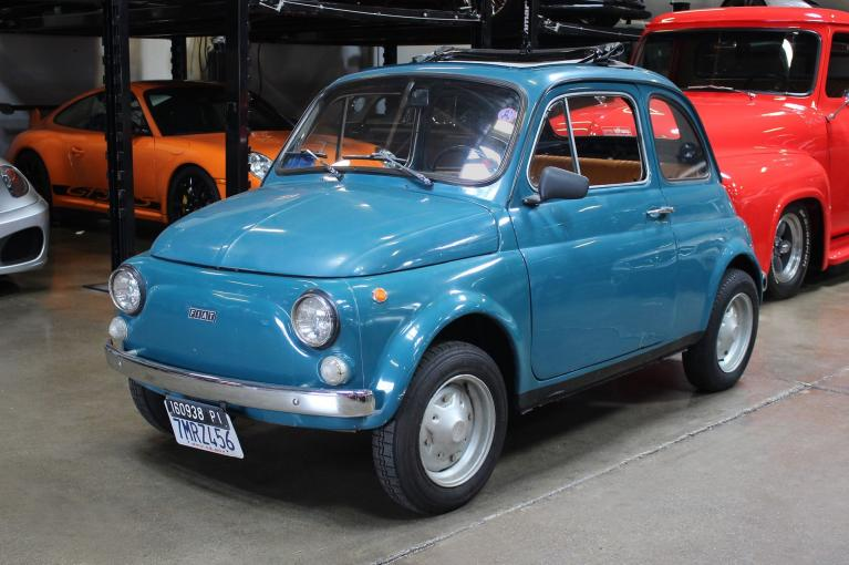Used 1971 Fiat 500L for sale Sold at San Francisco Sports Cars in San Carlos CA 94070 3
