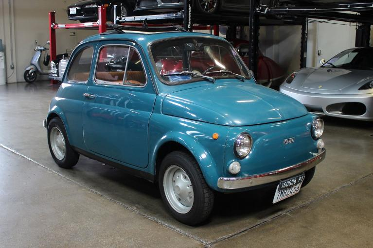 Used 1971 Fiat 500L for sale Sold at San Francisco Sports Cars in San Carlos CA 94070 1