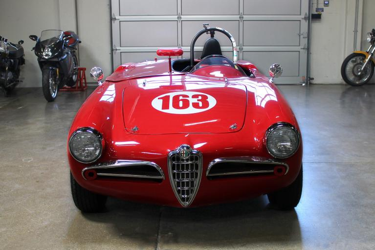 Used 1956 Alfa Romeo Giulietta Spyder for sale Sold at San Francisco Sports Cars in San Carlos CA 94070 2