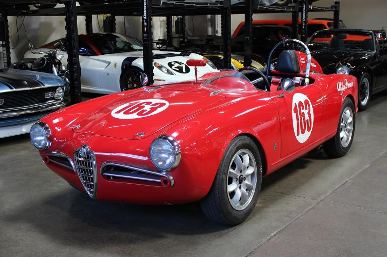 Used 1956 Alfa Romeo Giulietta Spyder for sale Sold at San Francisco Sports Cars in San Carlos CA 94070 3
