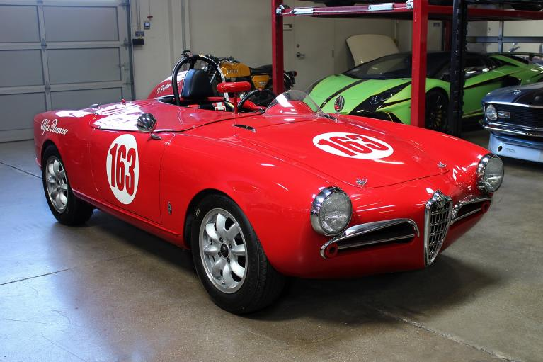 Used 1956 Alfa Romeo Giulietta Spyder for sale Sold at San Francisco Sports Cars in San Carlos CA 94070 1
