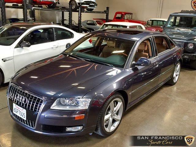 Used 2008 Audi A8L for sale Sold at San Francisco Sports Cars in San Carlos CA 94070 1