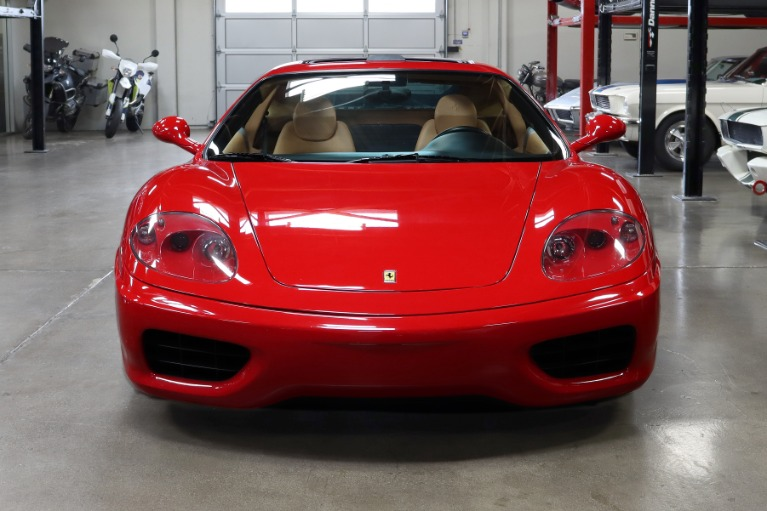 Used 2003 Ferrari 360 Modena for sale $92,995 at San Francisco Sports Cars in San Carlos CA 94070 2