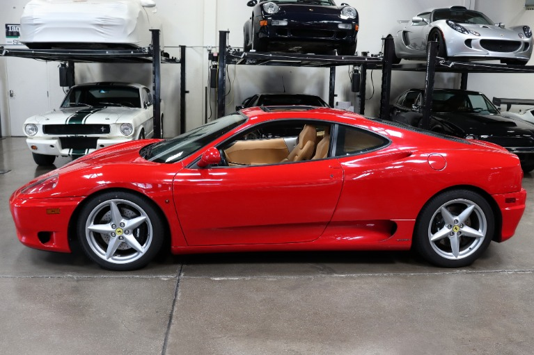 Used 2003 Ferrari 360 Modena for sale Sold at San Francisco Sports Cars in San Carlos CA 94070 4