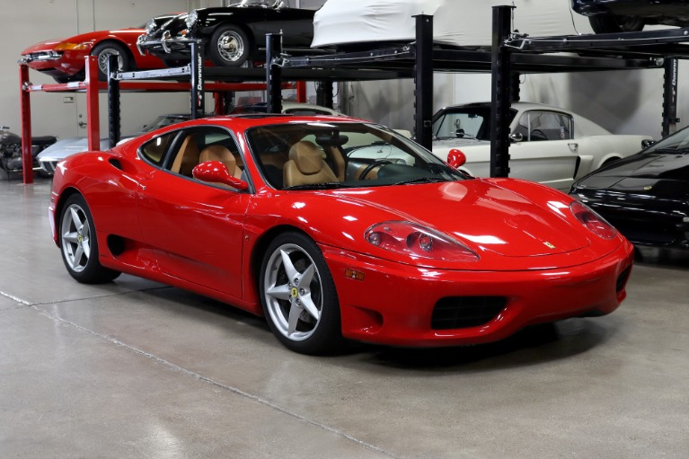Used 2003 Ferrari 360 Modena for sale $99,995 at San Francisco Sports Cars in San Carlos CA