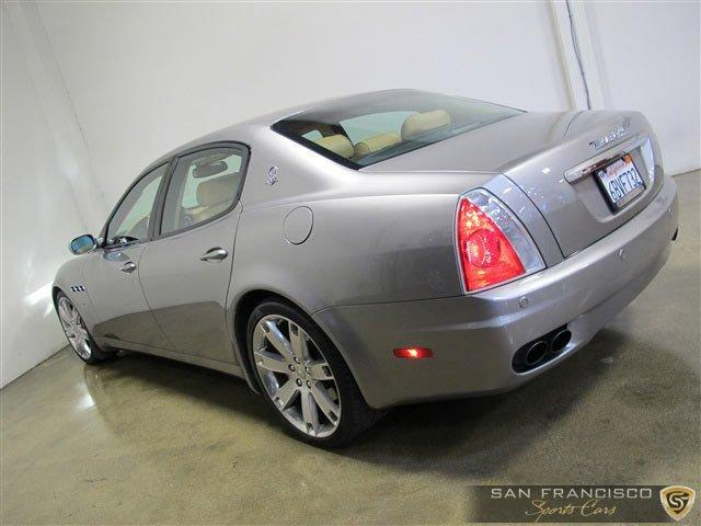 Used 2008 Maserati Quattroporte GTS for sale Sold at San Francisco Sports Cars in San Carlos CA 94070 4