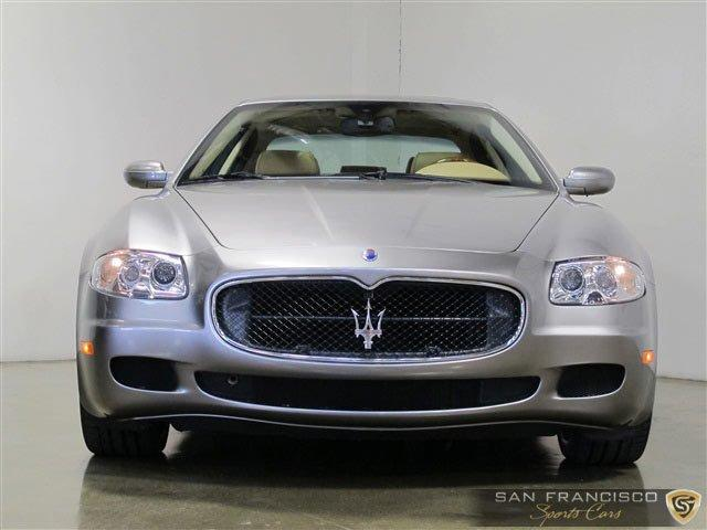 Used 2008 Maserati Quattroporte GTS for sale Sold at San Francisco Sports Cars in San Carlos CA 94070 1