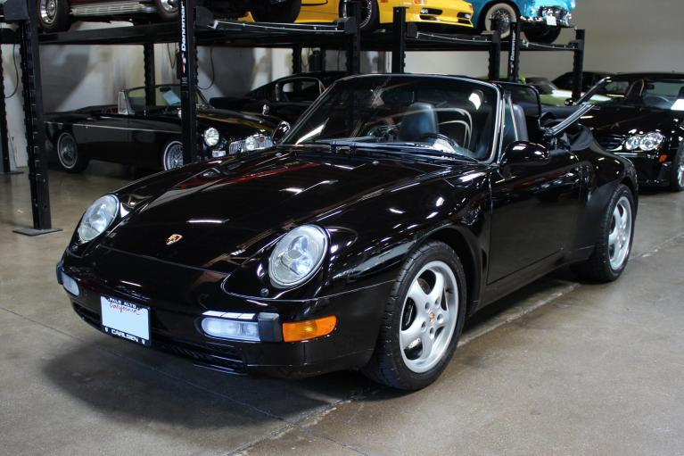 Used 1995 Porsche 911 Carrera for sale Sold at San Francisco Sports Cars in San Carlos CA 94070 3