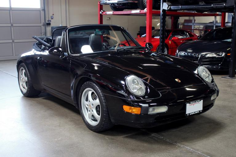 Used 1995 Porsche 911 Carrera for sale Sold at San Francisco Sports Cars in San Carlos CA 94070 1