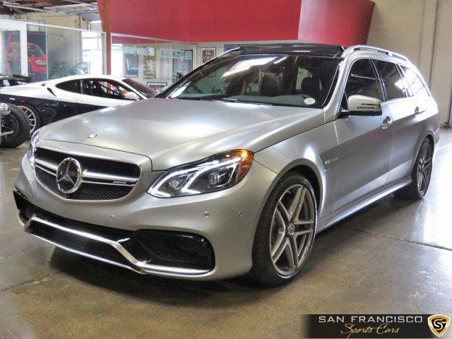 Used 2016 Mercedes-Benz E63 Wagon for sale Sold at San Francisco Sports Cars in San Carlos CA 94070 2
