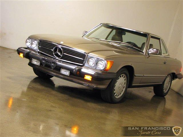 Used 1987 Mercedes-Benz 560SL for sale Sold at San Francisco Sports Cars in San Carlos CA 94070 2