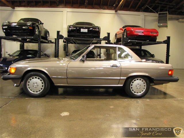 Used 1987 Mercedes-Benz 560SL for sale Sold at San Francisco Sports Cars in San Carlos CA 94070 3