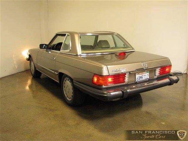 Used 1987 Mercedes-Benz 560SL for sale Sold at San Francisco Sports Cars in San Carlos CA 94070 4