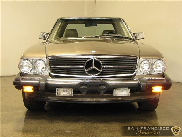 Used 1987 Mercedes-Benz 560SL for sale Sold at San Francisco Sports Cars in San Carlos CA 94070 1