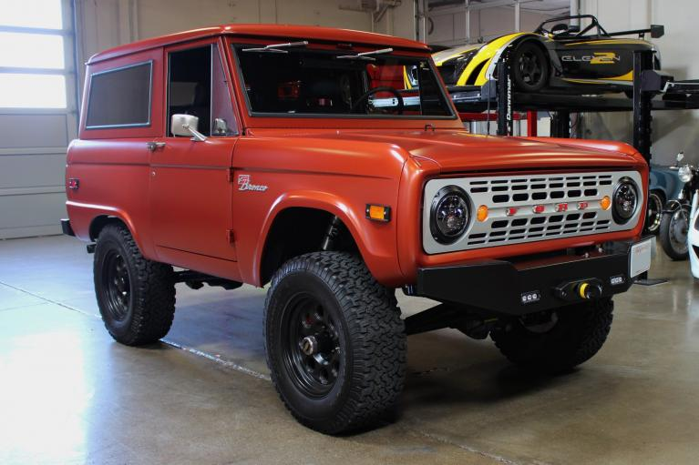 Used 1974 Ford Bronco for sale Sold at San Francisco Sports Cars in San Carlos CA 94070 1