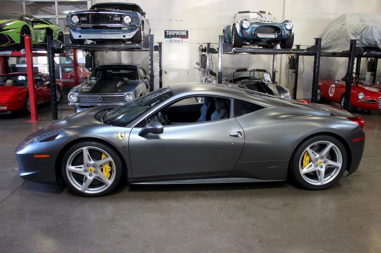 Used 2013 Ferrari 458 Italia for sale Sold at San Francisco Sports Cars in San Carlos CA 94070 4
