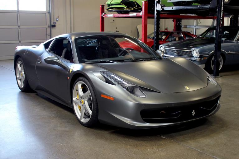 Used 2013 Ferrari 458 Italia for sale Sold at San Francisco Sports Cars in San Carlos CA 94070 1