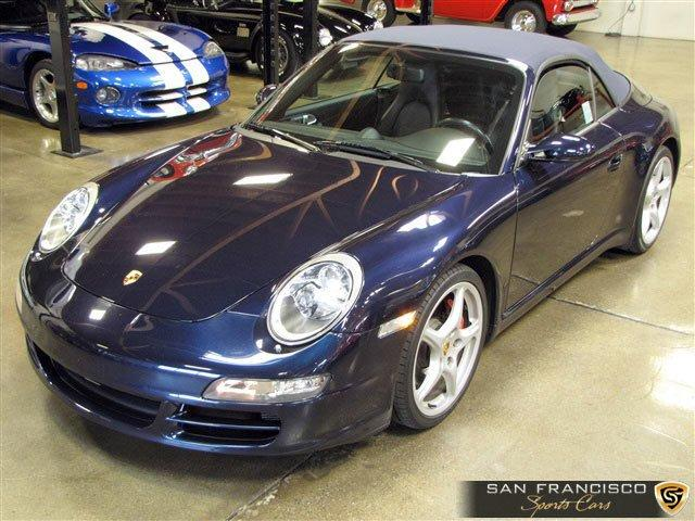 Used 2005 Porsche Carrera S Cabriolet for sale Sold at San Francisco Sports Cars in San Carlos CA 94070 2