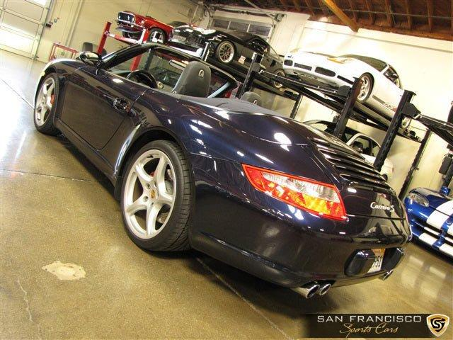 Used 2005 Porsche Carrera S Cabriolet for sale Sold at San Francisco Sports Cars in San Carlos CA 94070 4