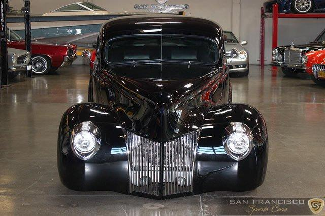 Used 1940 Ford Custom Street Rod for sale Sold at San Francisco Sports Cars in San Carlos CA 94070 2