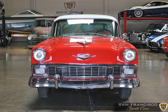 Used 1956 Chevrolet Bel-Air for sale Sold at San Francisco Sports Cars in San Carlos CA 94070 1