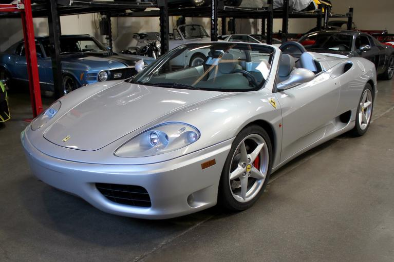 Used 2001 Ferrari 360 Spider for sale Sold at San Francisco Sports Cars in San Carlos CA 94070 3