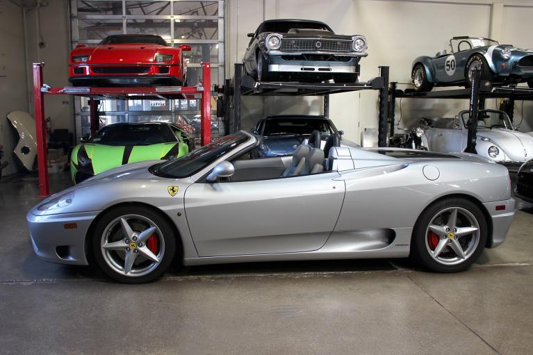Used 2001 Ferrari 360 Spider for sale Sold at San Francisco Sports Cars in San Carlos CA 94070 4