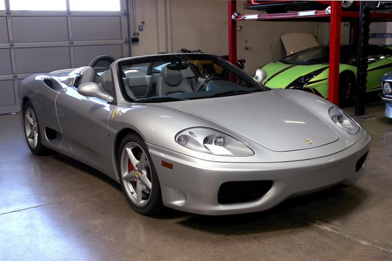 Used 2001 Ferrari 360 Spider for sale Sold at San Francisco Sports Cars in San Carlos CA 94070 1