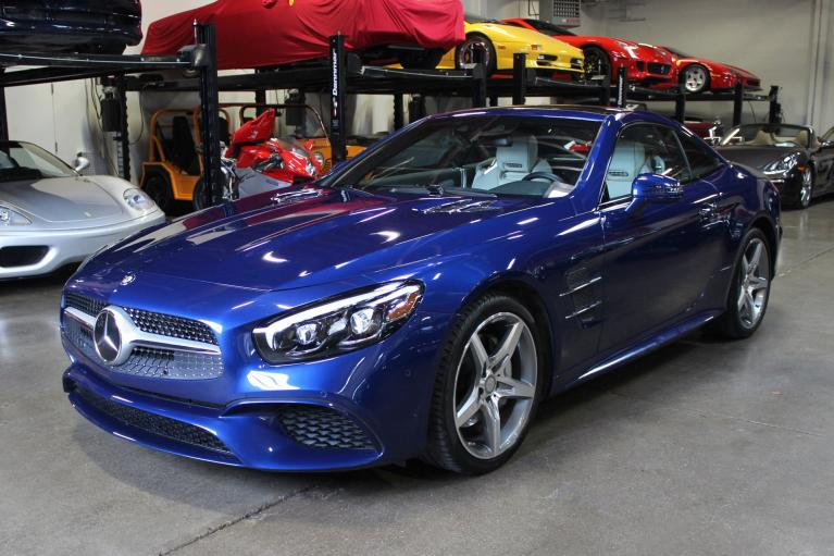 Used 2017 Mercedes-Benz SL550 for sale Sold at San Francisco Sports Cars in San Carlos CA 94070 3
