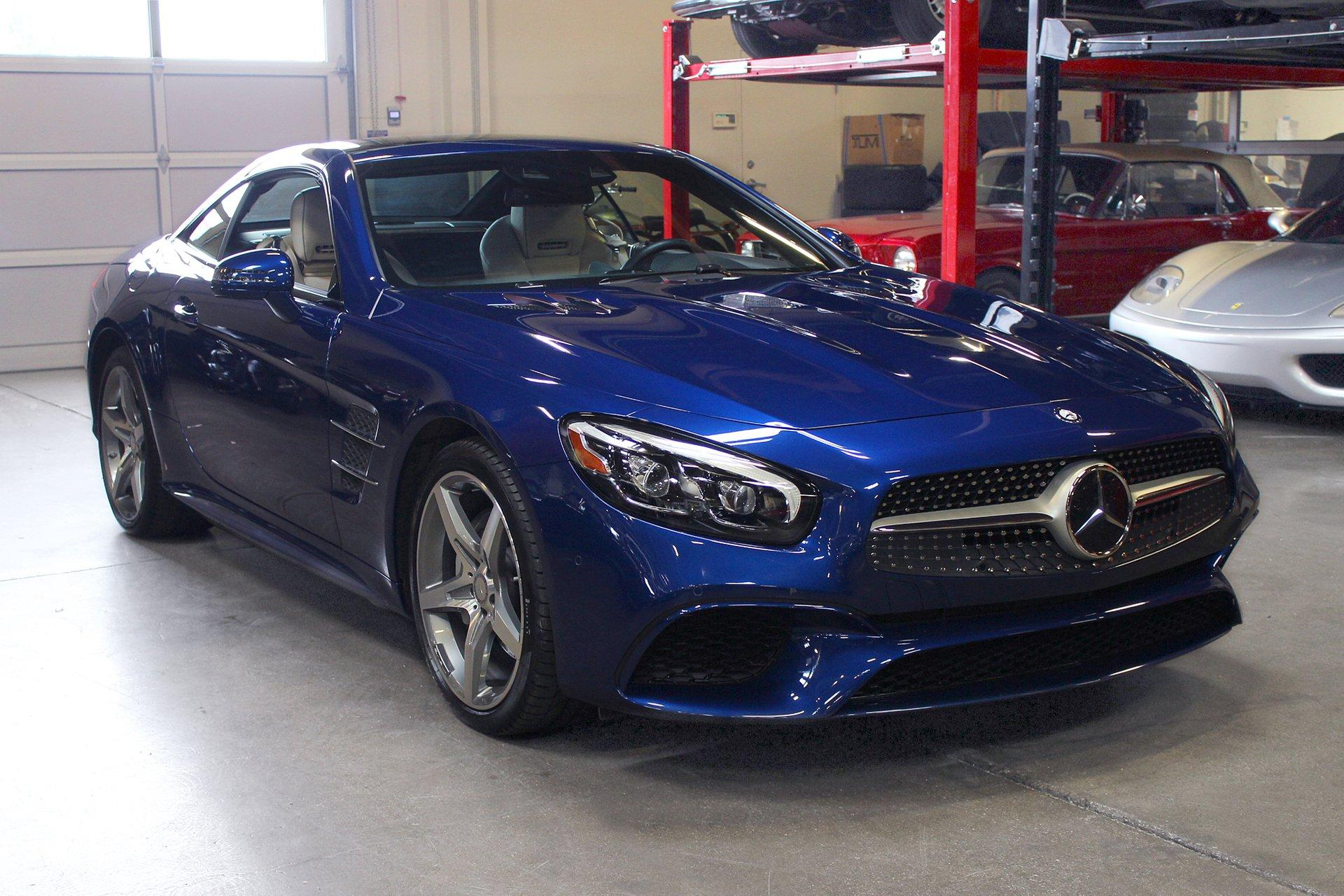 Used 2017 Mercedes-Benz SL550 for sale Sold at San Francisco Sports Cars in San Carlos CA 94070 1