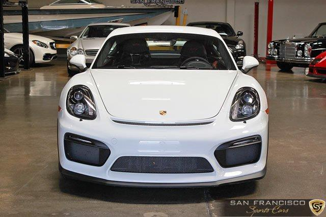 Used 2016 Porsche Cayman GT4 for sale Sold at San Francisco Sports Cars in San Carlos CA 94070 1