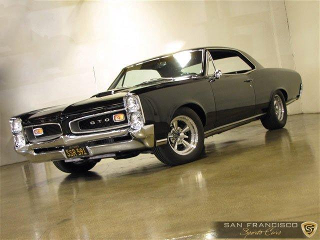 Used 1966 Pontiac GTO for sale Sold at San Francisco Sports Cars in San Carlos CA 94070 2