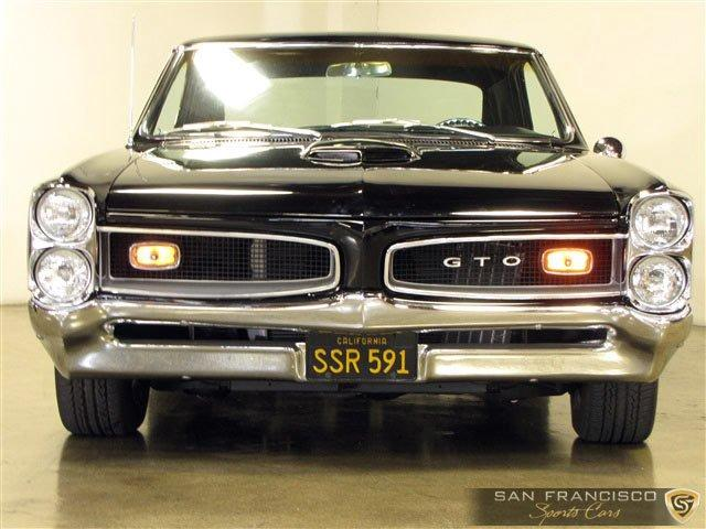 Used 1966 Pontiac GTO for sale Sold at San Francisco Sports Cars in San Carlos CA 94070 1