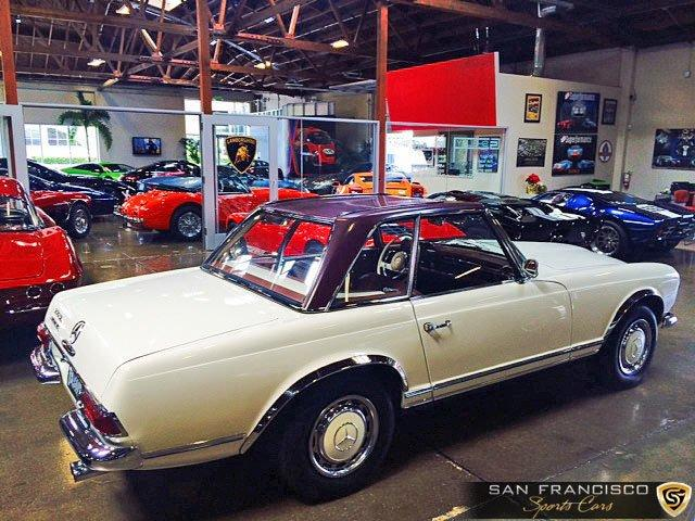 Used 1965 Mercedes-Benz 230SL for sale Sold at San Francisco Sports Cars in San Carlos CA 94070 3
