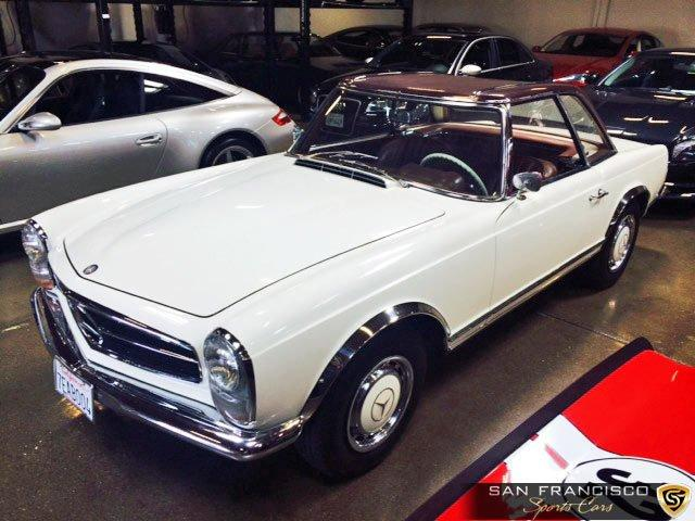 Used 1965 Mercedes-Benz 230SL for sale Sold at San Francisco Sports Cars in San Carlos CA 94070 1
