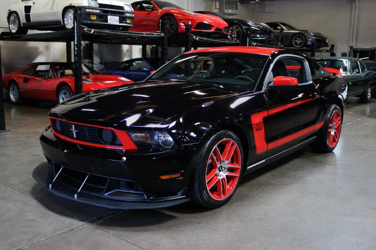 Used 2012 Ford Mustang Boss 302 Laguna Seca Boss 302 Laguna Seca for sale Sold at San Francisco Sports Cars in San Carlos CA 94070 3