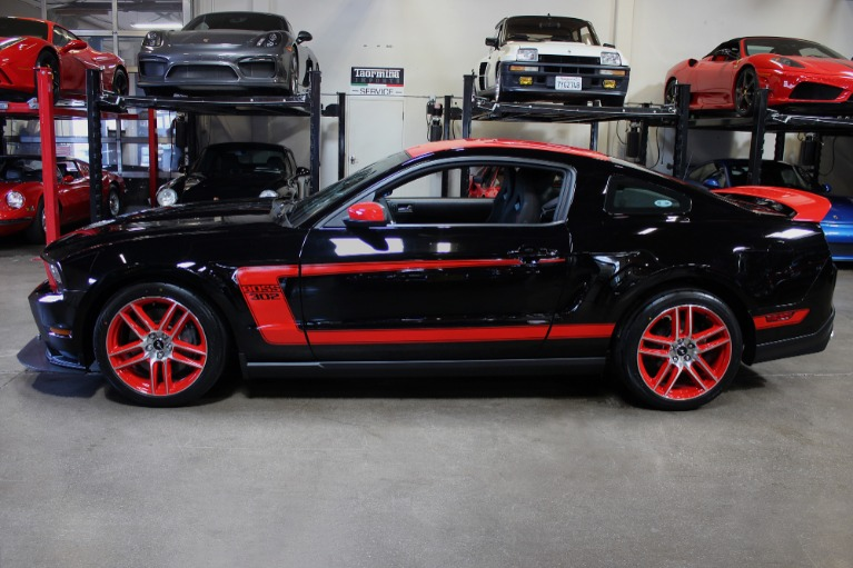Used 2012 Ford Mustang Boss 302 Laguna Seca Boss 302 Laguna Seca for sale Sold at San Francisco Sports Cars in San Carlos CA 94070 4