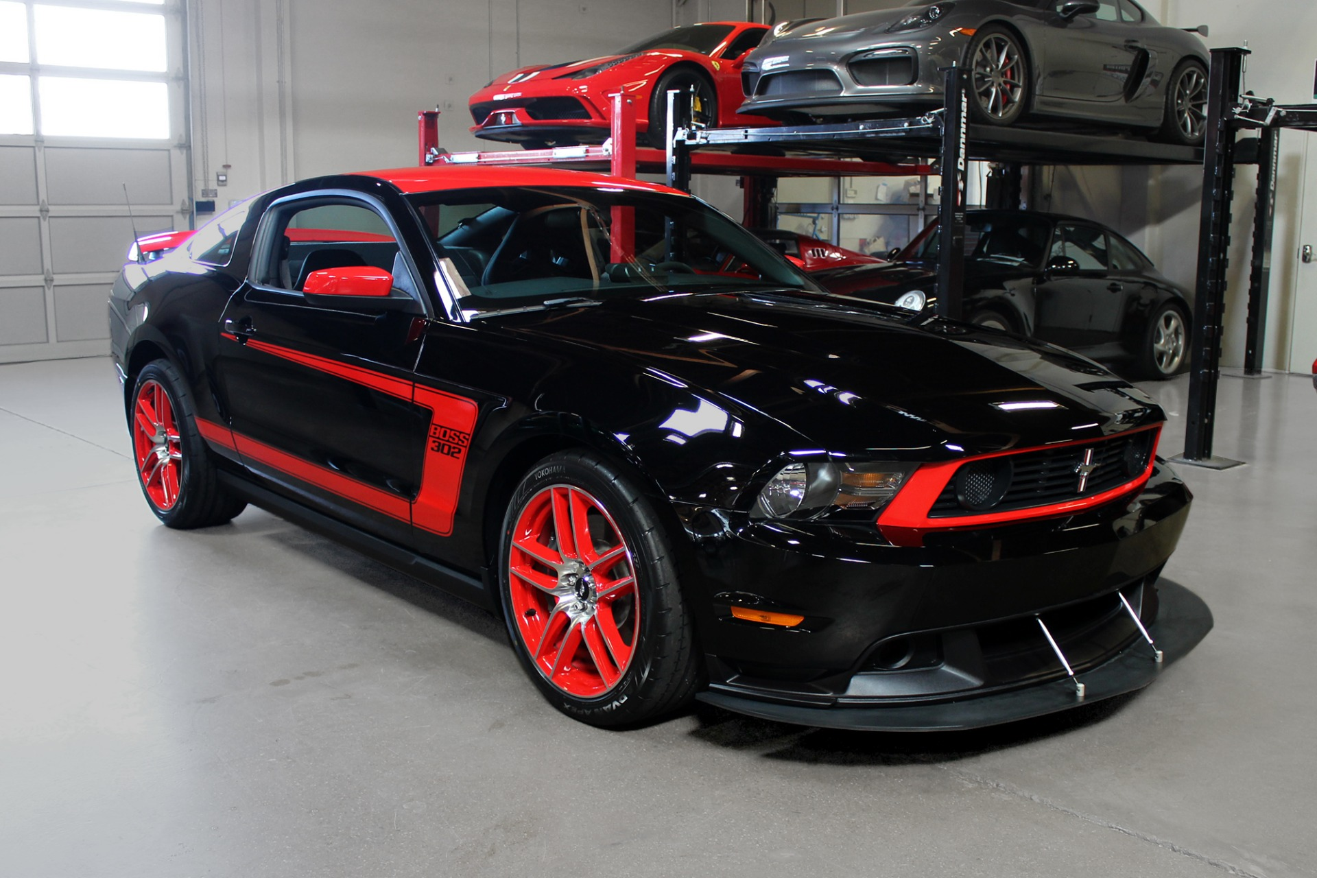 Used 2012 Ford Mustang Boss 302 Laguna Seca Boss 302 Laguna Seca for sale Sold at San Francisco Sports Cars in San Carlos CA 94070 1